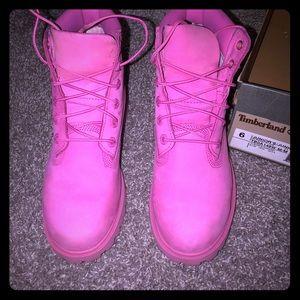 Timberland Shoes - Pink timberlands